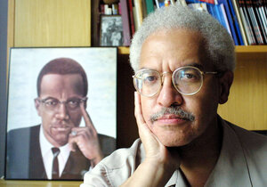 "In Malcolm X: A Life of Reinvention, Manning Marable writes: ""The great temptation for the biographer of an iconic figure is to portray him or her as a virtual saint, without the normal contradictions and blemishes that all human beings have. I have devoted so many years in the effort to understand the interior personality and mind of Malcolm that this temptation disappeared long ago."""