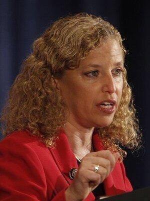 Rep. Debbie Wasserman Schultz, November 2010.