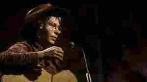 John Denver performs on the BBC TV series The John Denver Show.
