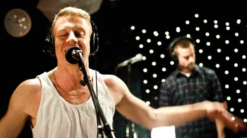 Seattle rapper Macklemore recently performed a studio session at KEXP.
