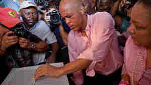 Novice Politician, Pop Star Haiti's President-To-Be