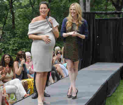 A client and Pregnant In Heels star Rosie Pope.
