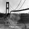 In November 1940, just months after its completion, a large section of the Tacoma Narrows Bridge crashed into Puget Sound in Tacoma,  Wash. The bridge collapsed under high winds — a failure that shocked engineers at the time.