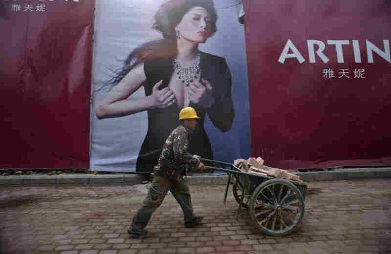 Beijing has moved toward restricting the use of certain words associated with luxury in its billboard ads.