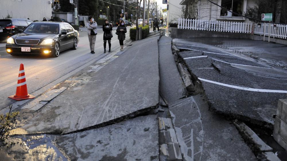 In Japan, Shaken Soil Turned Soft After Quake : NPR