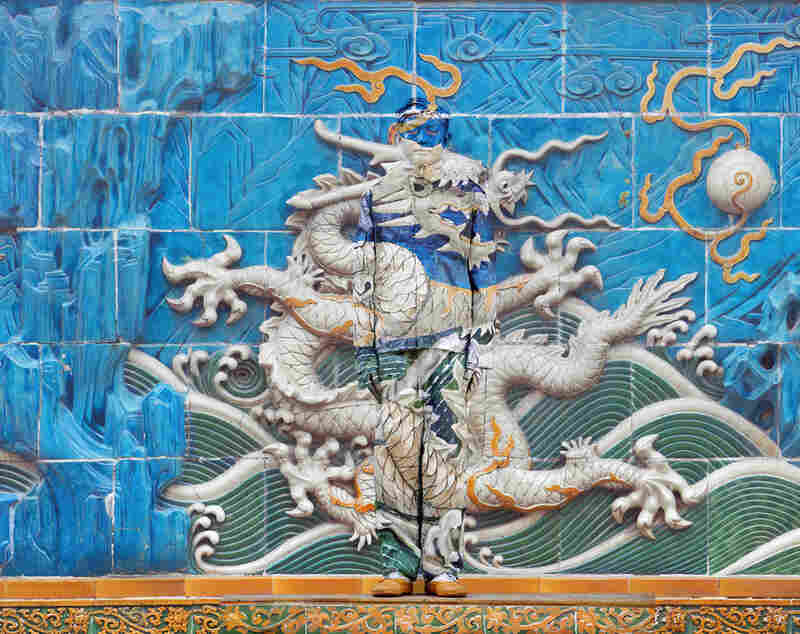 Dragon Series, No. 3 of 10 panels, 2010