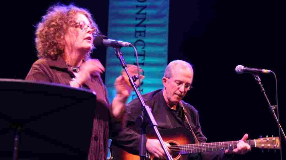 Mollie O'Brien and Rich Moore performed at the 2011 Celtic Connections Festival in Glasgow, Scotland.