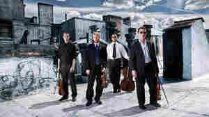 The JACK Quartet thrives on high-intensity repertoire.