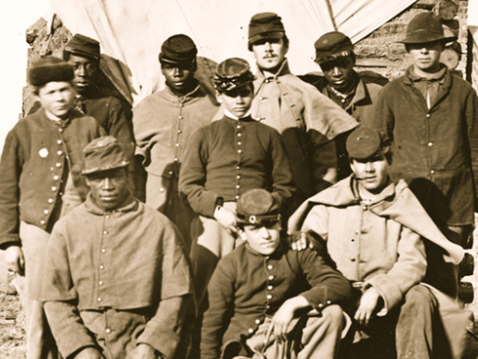 african american soldiers in the civil war The life of an african american during the civil war you decide lesson plans for grades 4-5 october 28 first battle in kansas where african american soldiers.