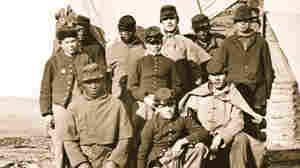 African American and white soldiers