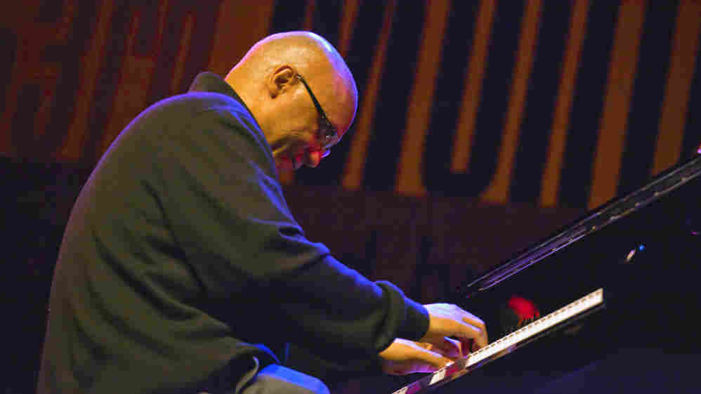 Billy Childs performs at the Monterey Jazz Festival.