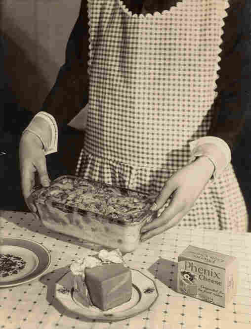 Phenix Cheese (with apron & hands), 1924
