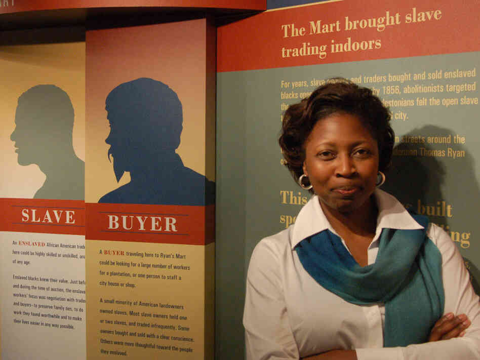 Nichole Green, director of Charleston's Slave Mart Museum, estimates that 10,000 slaves were auctioned in the building that now houses the museum. She says she's hopeful this year's anniversary is part of a healing process.
