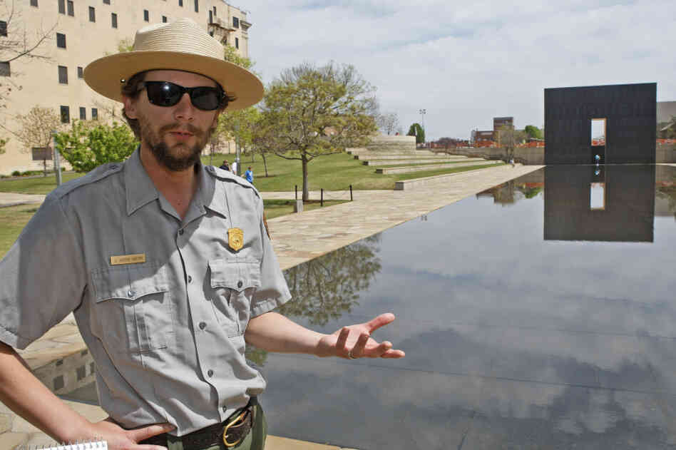 If a shutdown occurs, Justin Castro, a National Park Service ranger, would be furloughed from his post at the Oklahoma City National Memorial which would stay open.