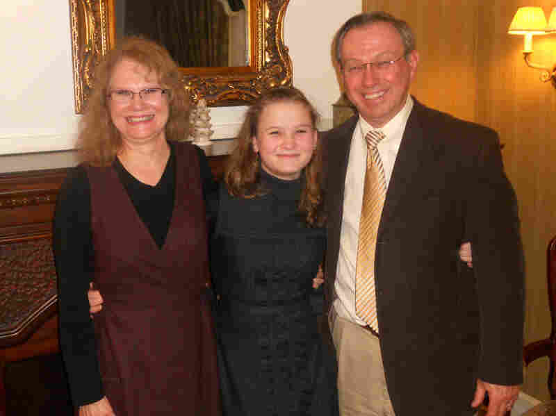 Anastasia (middle) was adopted from Russia by the Tomlinsons of Tennessee last year, but her placement was very nearly ruined by the uproar created when an American mother sent her newly adopted son back to Moscow.