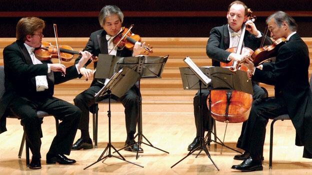The Tokyo Quartet untangles Beethoven's complex Grosse Fuge at WQXR's Greene Space.