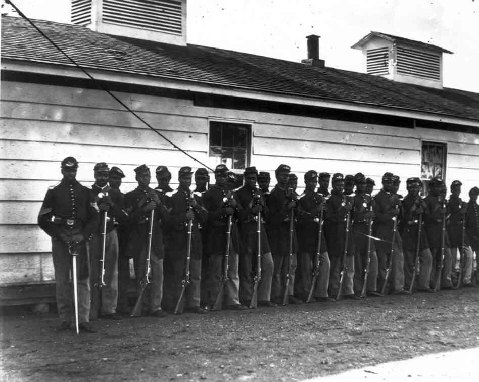 The Birth of the 54th Massachusetts Regiment in the American Civil War
