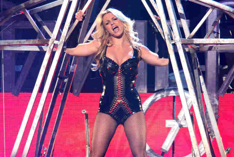No Pants, No Songwriting Credits, No Problem: Britney Spears performs on the March 27th taping of Good Morning America.