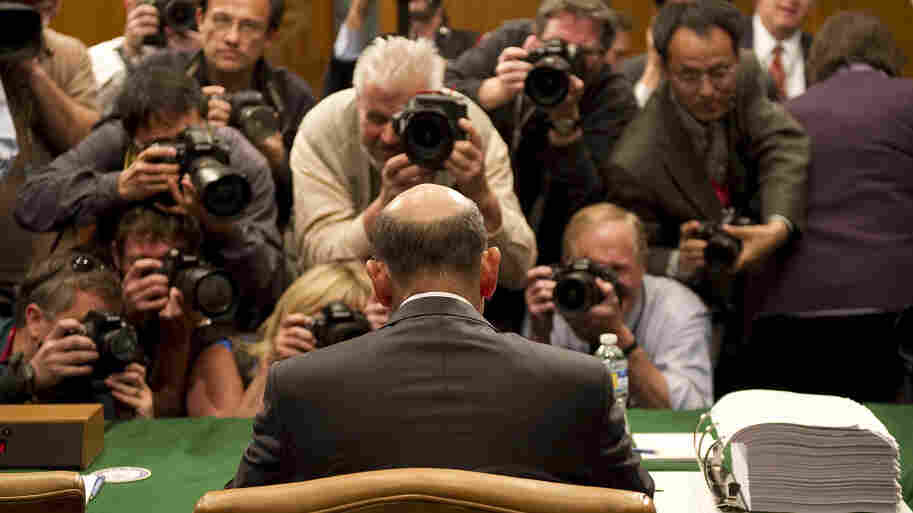 Goldman Sachs CEO Lloyd Blankfein arrives to testify before a Senate investigative committee in Washington in April 2010. The firm eventually settled with the SEC and paid 550 million in fines. Author William Cohan writes about the Goldman's alternatingly tempestuous and chummy relationship with the government in his new book.