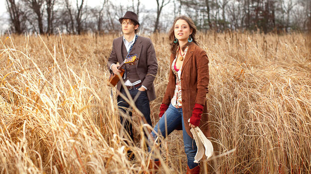 David Wax and Suz Slezak form the core of the folk group David Wax Museum.