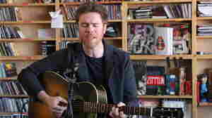 Josh Ritter performs a Tiny Desk Concert at the NPR Music offices.