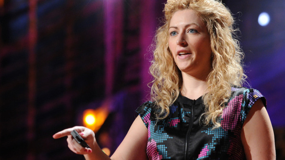 When Jane McGonigal suffered a concussion that impeded her ability to read and write, she created a game to help herself recover. (TED)