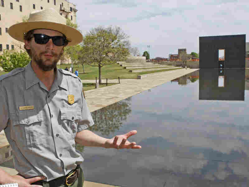 If a shutdown occurs, Justin Castro, a National Park Service ranger, would be furloughed from his post at the Oklahoma City National Memorial, which would stay open.