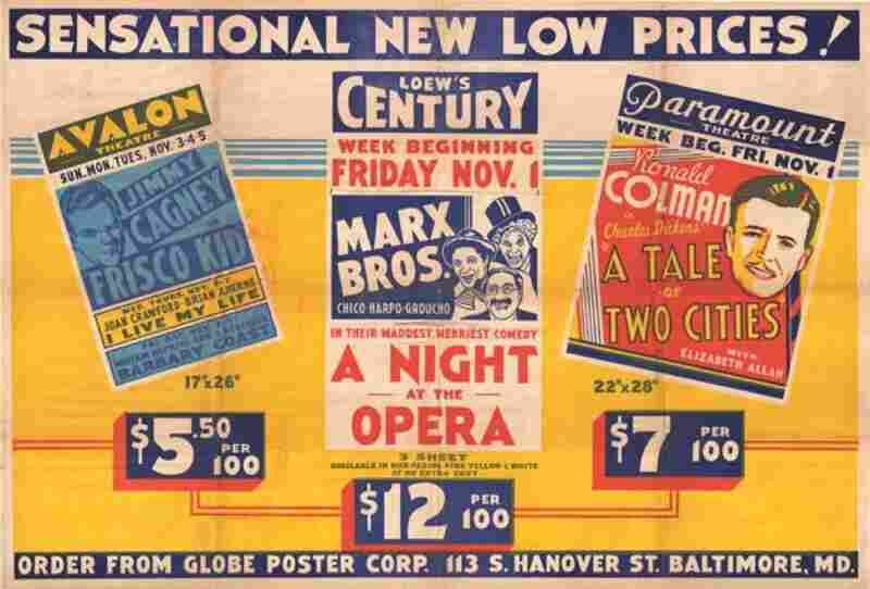 Globe's early work consisted of film and show posters including this one from 1935.