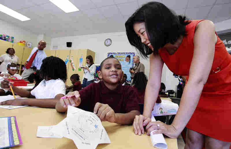 Michelle Rhee served as the head of D.C. Public Schools for almost three years. She now heads her own education advocacy group, StudentsFirst.