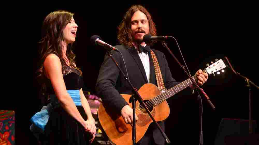 The Civil Wars performed on Mountain Stage.