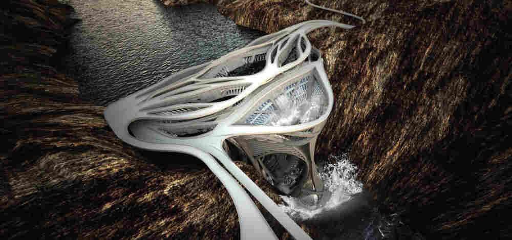Yheu-Shen Chua re-imagined the Hoover Dam to win third pace.