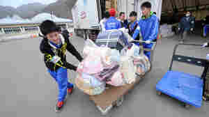 Japanese Youth Step Up In Earthquake Aftermath