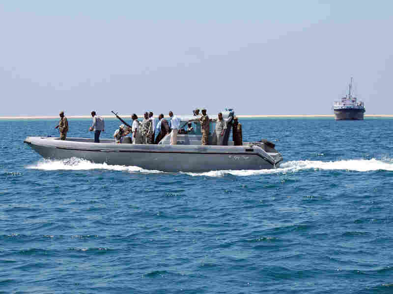 Somaliland's coast guard has just eight boats to patrol more than 500 miles of  coastline along the Gulf of Aden.