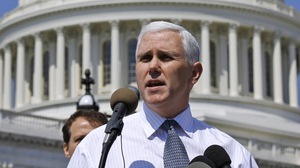 Rep. Mike Pence (R-IN)  introduced legislation to defund Planned Parenthood in January.