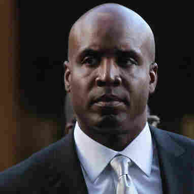 Former Major League Baseball player Barry Bonds. (March 21, 2011 file photo.)