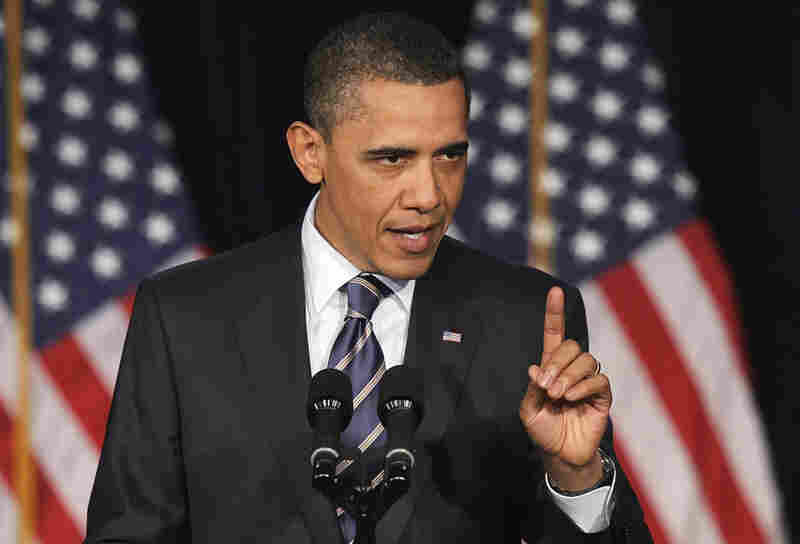 President Obama outlined a mix of spending cuts and tax hikes to reduce the deficit Wednesday at George Washington University in Washington, D.C.