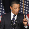 President Obama at George Washington University, Wednesday, April 13, 2011.