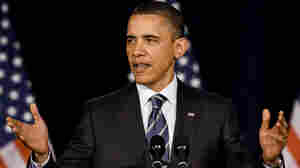 President Barack Obama speaks about fiscal policy at George Washington Univers
