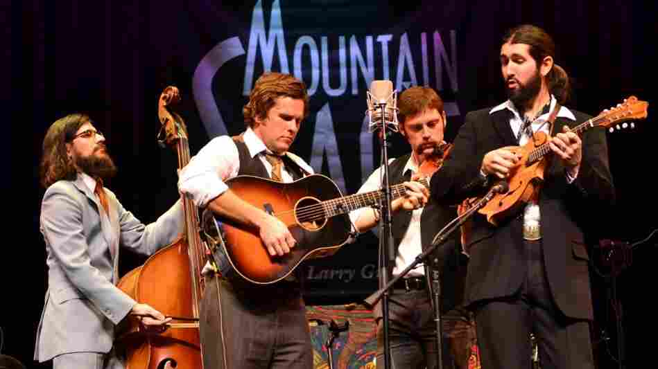 The Steel Wheels performed on Mountain Stage.