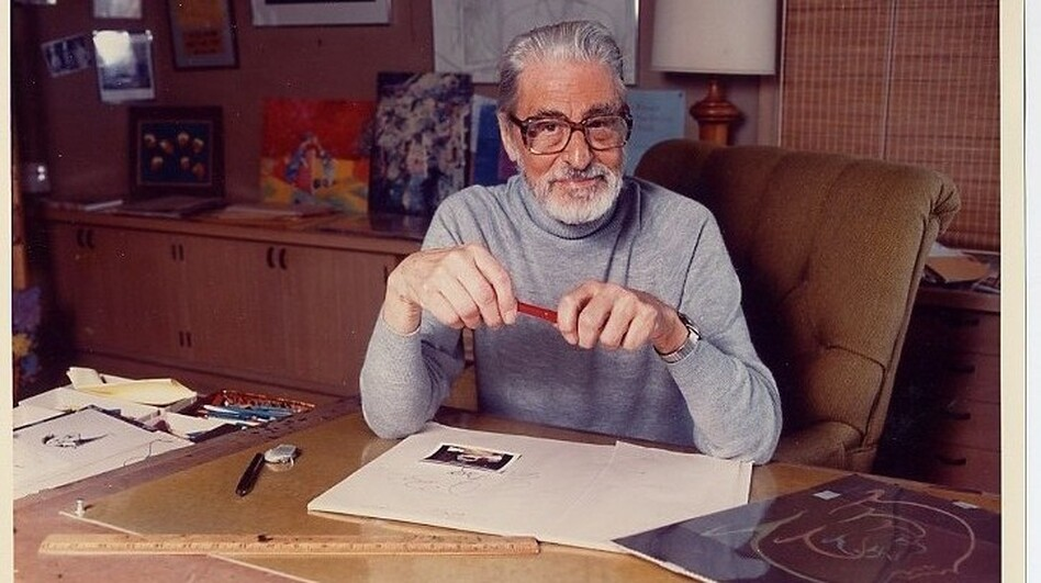 Theodor Seuss Geisel (1904-1991) first began using his pen name after a college dean banned him from drawing cartoons for the school paper. He is the author of <em>The Cat in the Hat, Green Eggs and Ham</em>, <em>How the Grinch Stole Christmas</em> and many other beloved titles.