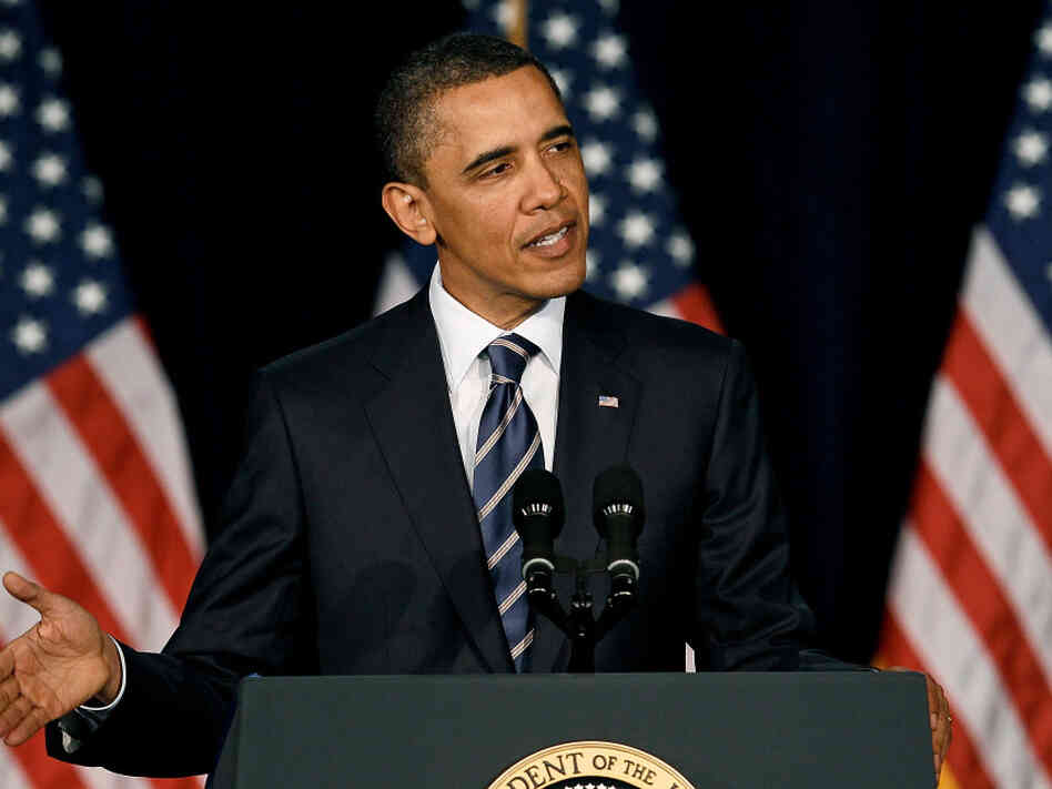 President Barack Obama speaks on Wednesday, resolving to let Bush-era tax cuts expire without renewal and proposing how he plans to scale back the deficit.
