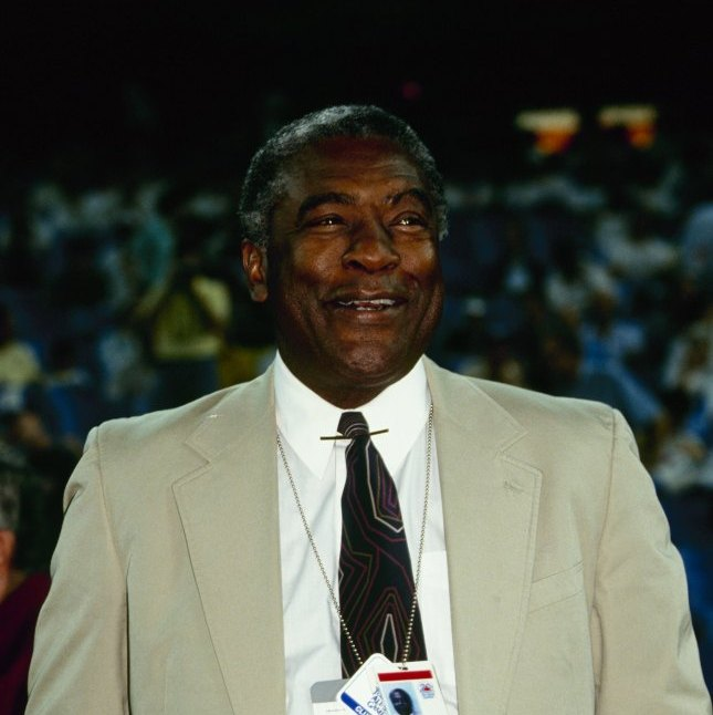 Bill White, pictured here at the 1991 MLB All-Star Game, was the president of the National League from 1989 to 1994. He began his baseball career as a first baseman with the then-New York Giants and later became a broadcaster with the Yankees.