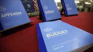 President Obama's 2012 budget sent to Congress in February.