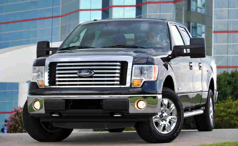 This photo provided by the Ford Motor Co. shows the 2011 Ford F-150 truck.