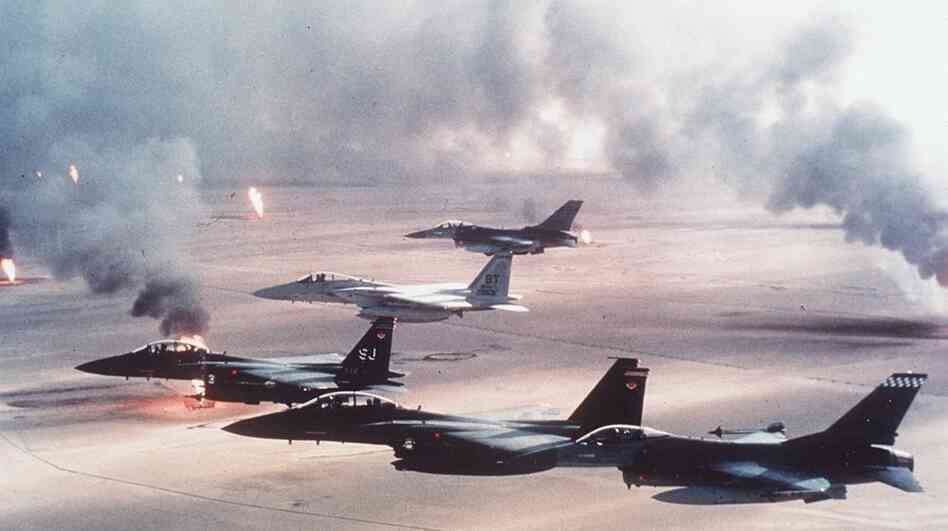 1st SOW in operations Desert Storm, Desert Shield