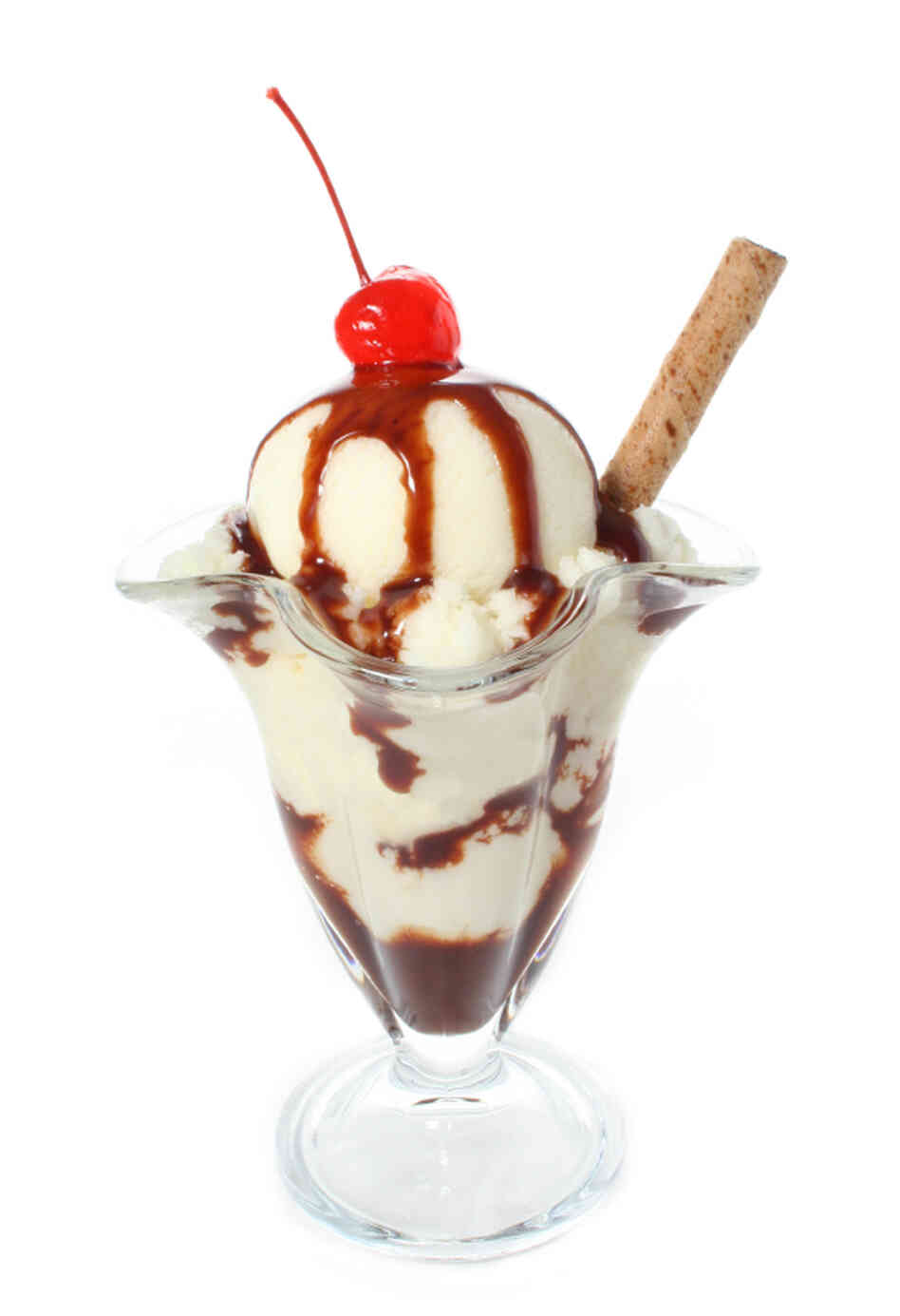 This is not a vegan sundae.