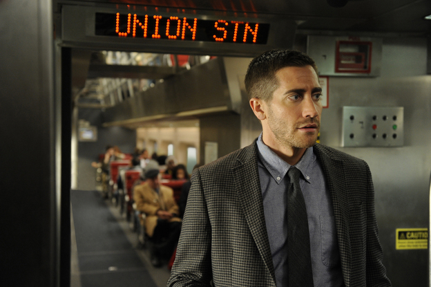 <strong>Deja Vu All Over Again:</strong> In <em>Source Code,</em> Jake Gyllenhaal plays a military man who must relive the same eight minutes of a train bombing until he gets it right.