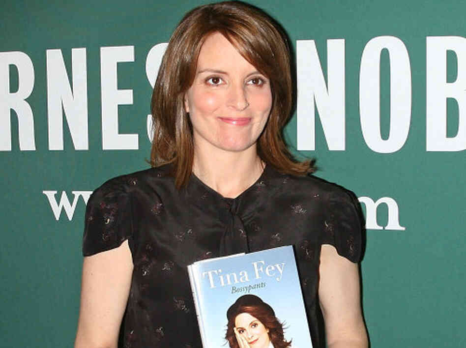 Tina Fey signs copies of Bossypants at Barnes & Noble Union Square on April 8, 2011 in New York City. Fey appeared last night in Washington, D.C.