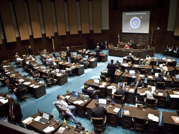 The Arizona House of Representatives on April 6.