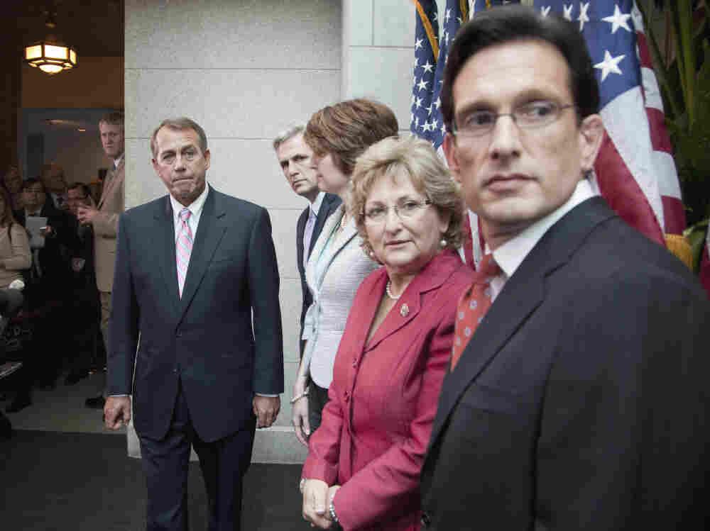 House Speaker John Boehner kept his troops in line in the vote on Rep. Ryan's budget plan.